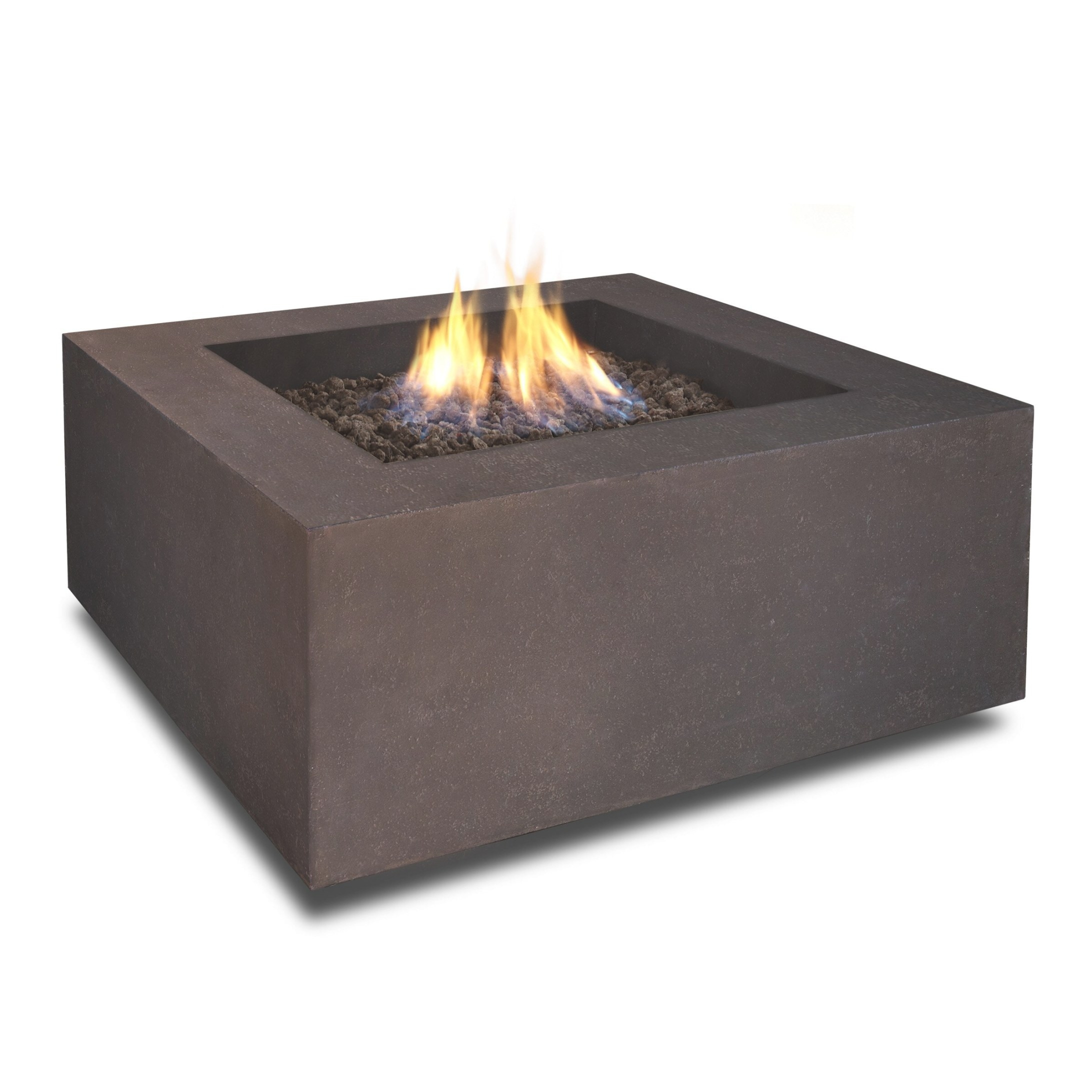 Real Flame Baltic Square Propane Fire Pit Table & Reviews intended for Propane Fire Pit Table