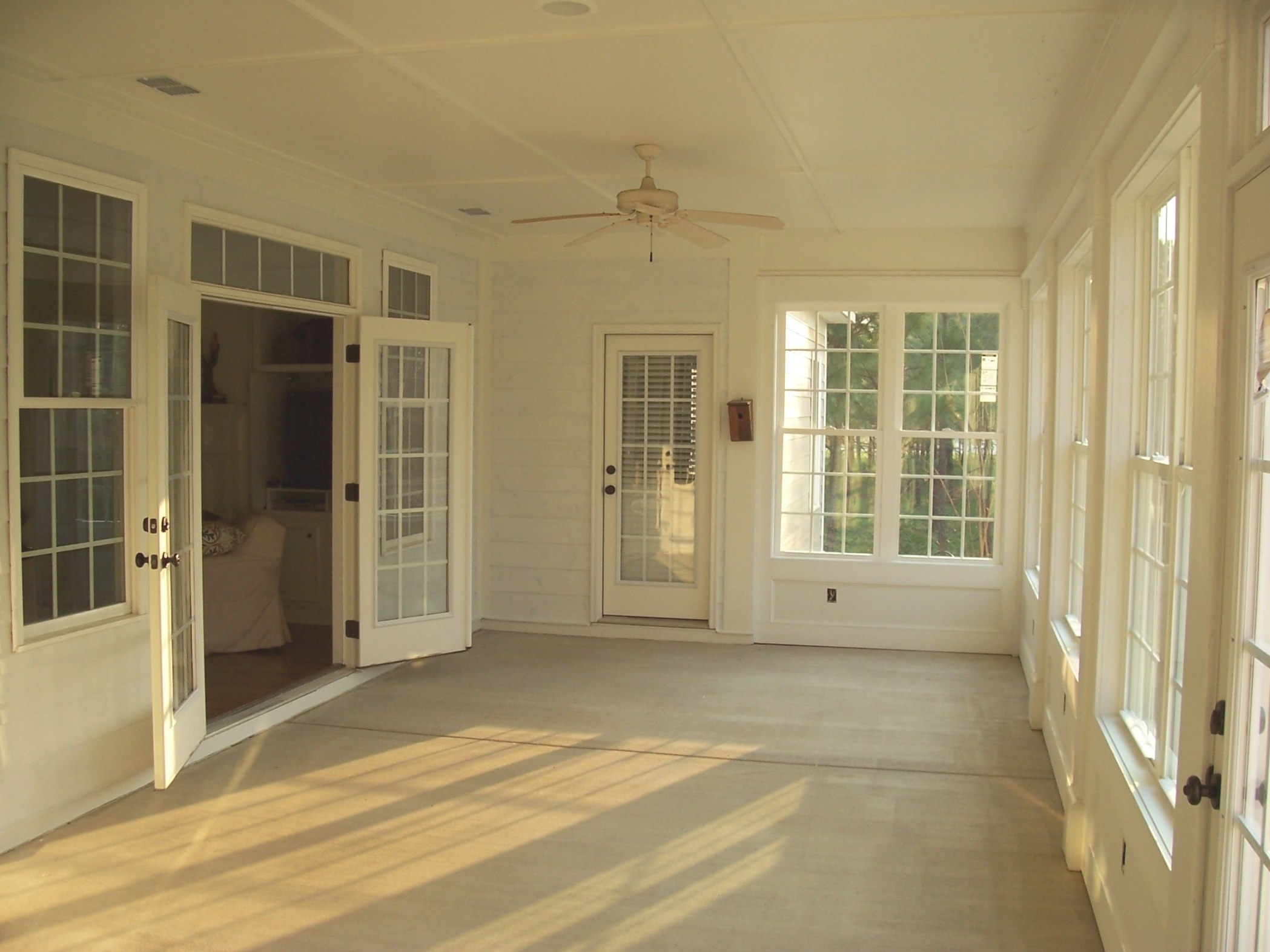 Remodel Project - Screen Porch Turned Into Sun Room/Sun within Turning Living Room Into Bedroom
