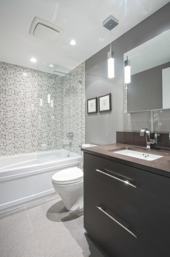 Remodeling Small Bathroom Beautifully   Decohoms pertaining to Small White Tiles For Bathrooms