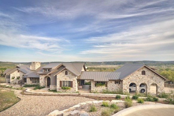 Romantic Hill Country Dream - Farmhouse - Exterior with regard to Texas Hill Country Homes
