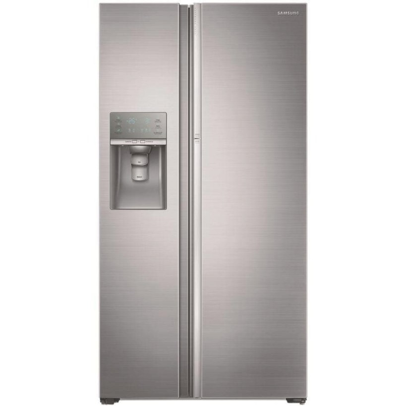 Samsung 21.5-Cu Ft Side-By-Side Refrigerator With Ice pertaining to Samsung Refrigerator Ice Maker