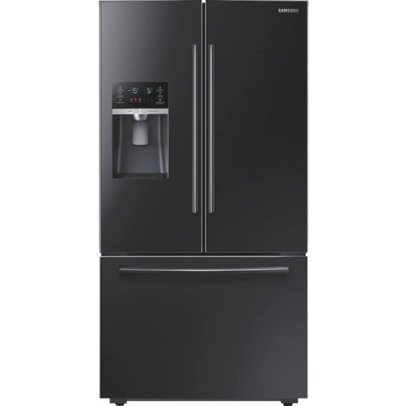 Samsung 28.07-Cu Ft French Door Refrigerator With Ice pertaining to Samsung Refrigerator Ice Maker