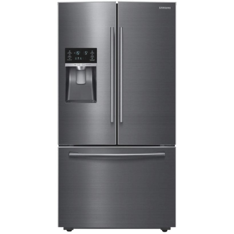 Samsung 28.07-Cu Ft French Door Refrigerator With Ice with regard to Samsung Refrigerator Ice Maker