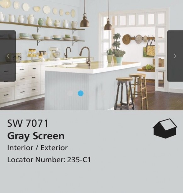 Screen Capture From The Sherwin Williams Website For Their intended for Sherwin Williams Gray Screen