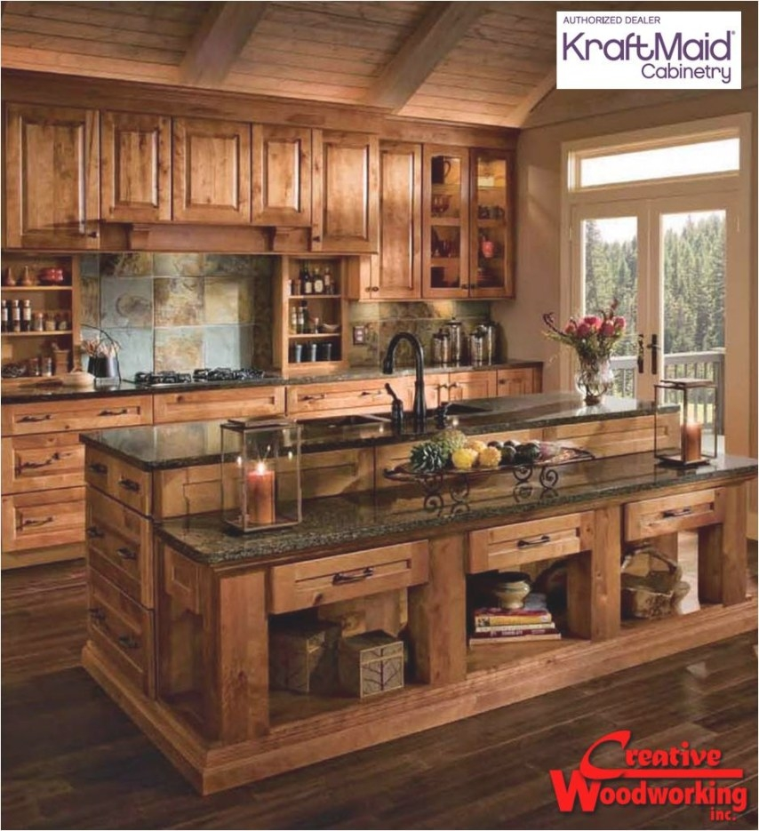 Sd: Guide To Get Woodworking Ideas For Home in Rustic Kitchen Ideas For Small Kitchens