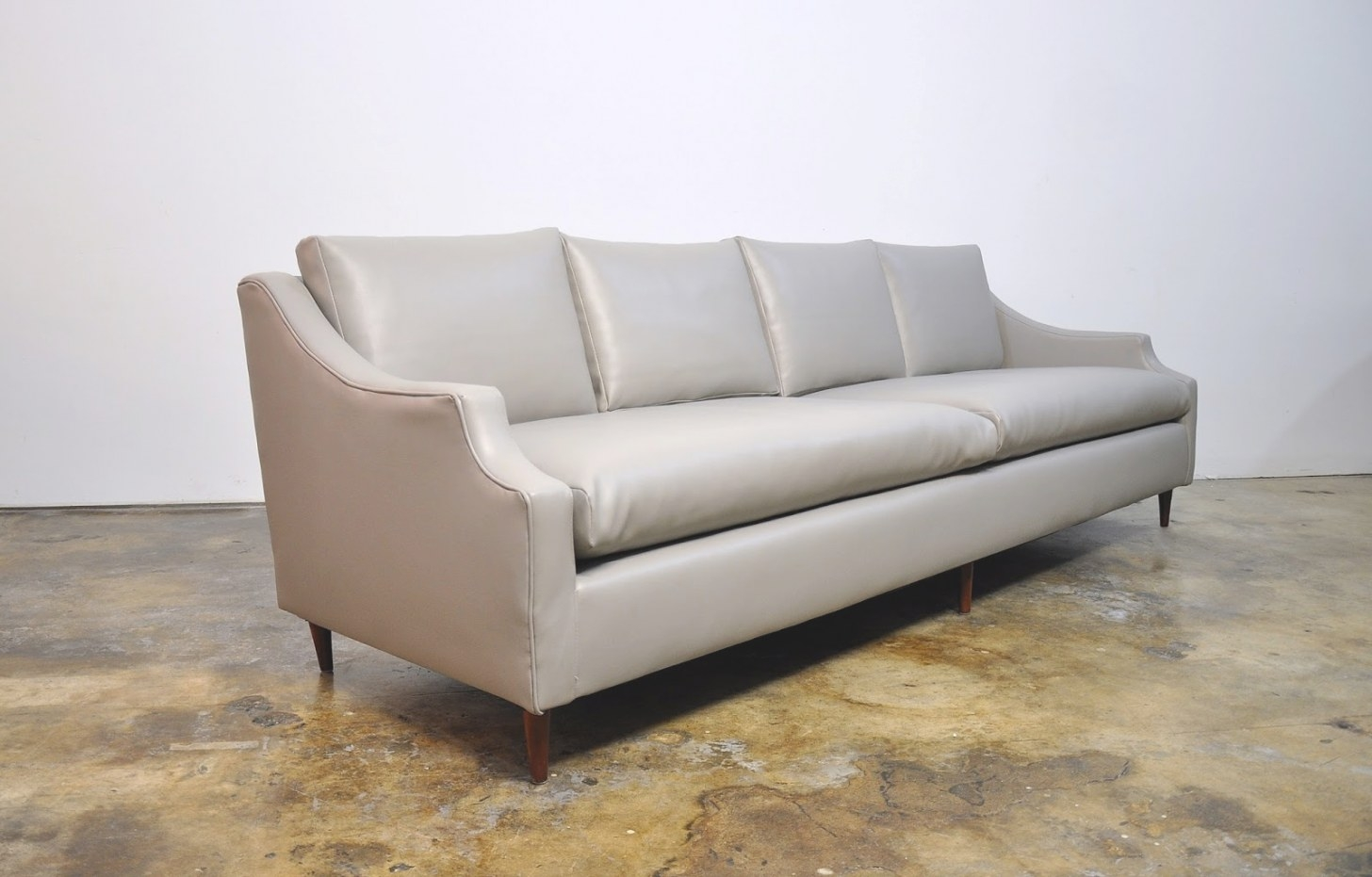 Select Modern: Mid Century Sofa pertaining to Small Mid Century Modern Sectional