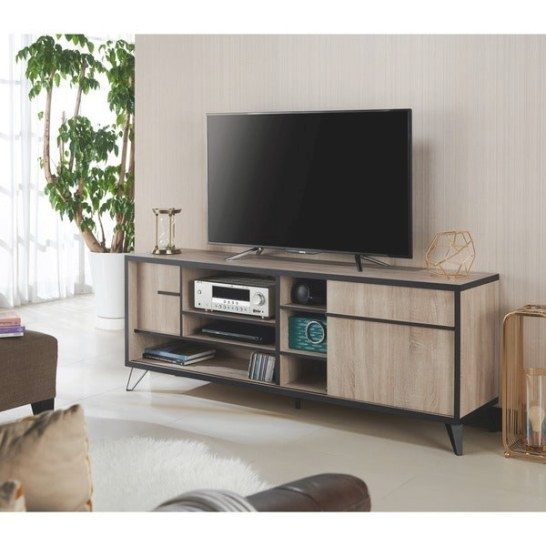 Shop Carbon Loft Feleni Contemporary 70-Inch Tv Stand - On with regard to 70 Inch Tv Stand
