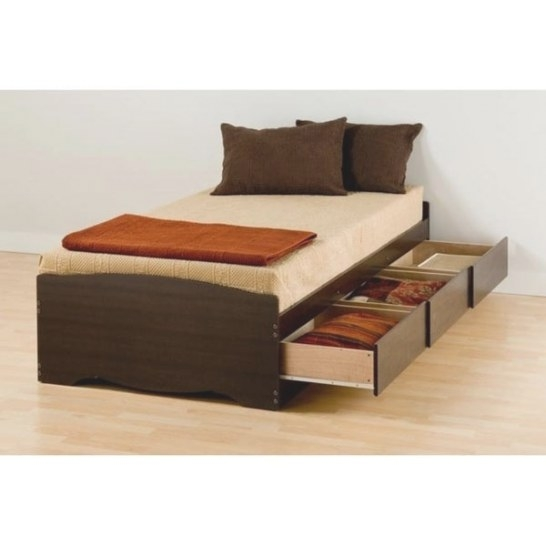 Shop Espresso Twin Xl Mate'S Platform Storage Bed With 3 pertaining to Twin Xl Platform Bed