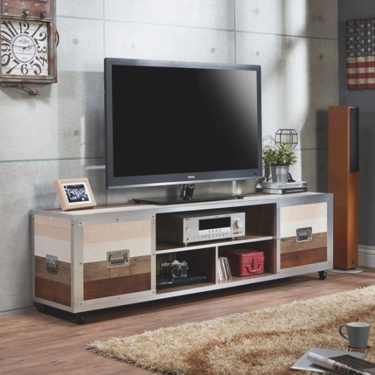 Shop Furniture Of America Yed Contemporary 70-Inch Multi in 70 Inch Tv Stand