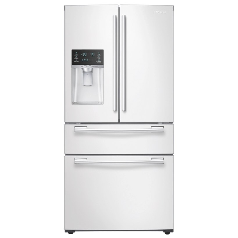 Shop Samsung 24.73-Cu Ft French Door Refrigerator With intended for Samsung Refrigerator Ice Maker