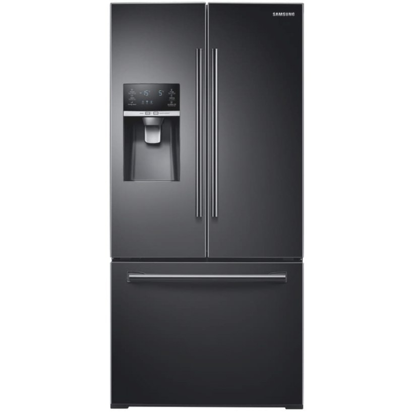 Shop Samsung 25.5-Cu Ft French Door Refrigerator With intended for Samsung Refrigerator Ice Maker