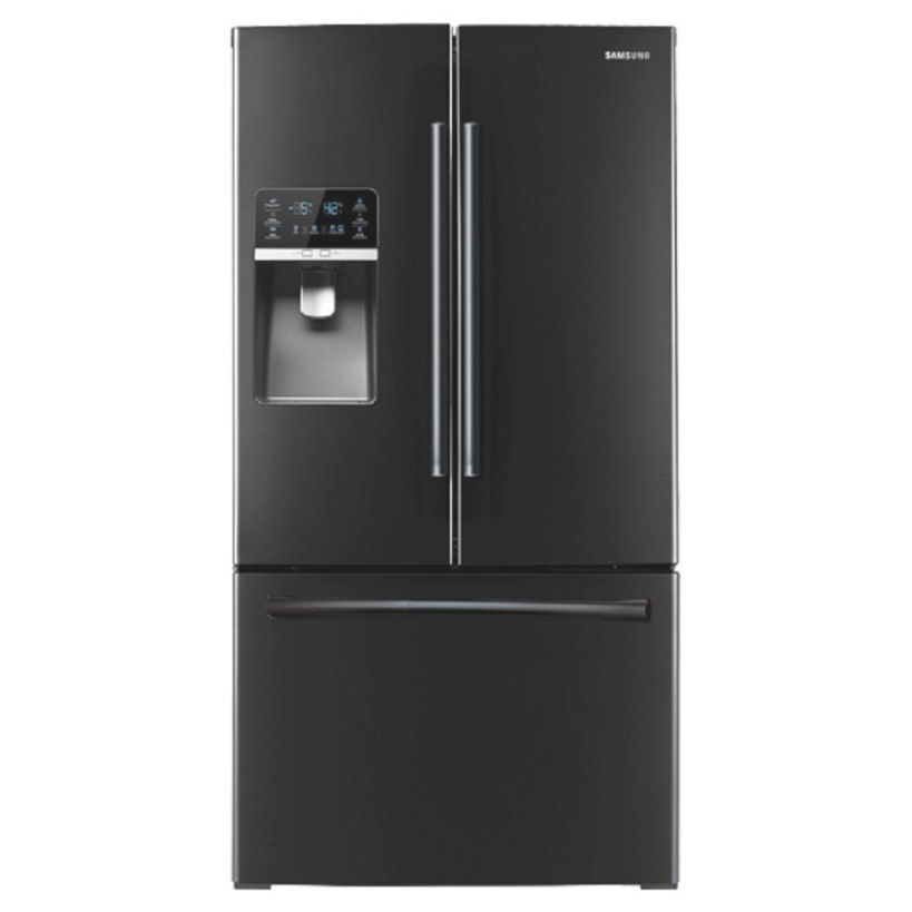 Shop Samsung 30.5-Cu Ft French Door Refrigerator With Dual in Samsung Refrigerator Ice Maker