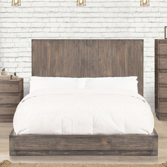 Shop Strick & Bolton Mulligan Industrial Natural Tone Low pertaining to Low Profile Bunk Beds