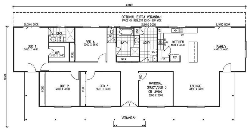 Single Story 5 Bedroom House Plans Awesome with regard to 5 Bedroom Floor Plans