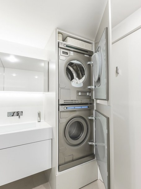 Small Bathroom/Laundry Room Combo Ideas   Houzz in Washer Dryer Combo In Bathroom