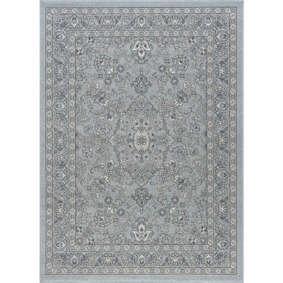 Tayse Rugs Kensington Gray 5 Ft. X 7 Ft. Indoor Area Rug for 5 X 7 Rugs
