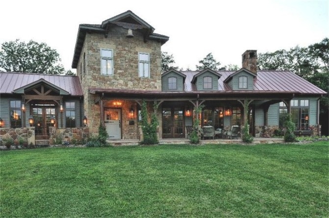 Texas Hill Country Style Home, Austin, Texas #Home #Decor intended for Texas Hill Country Homes