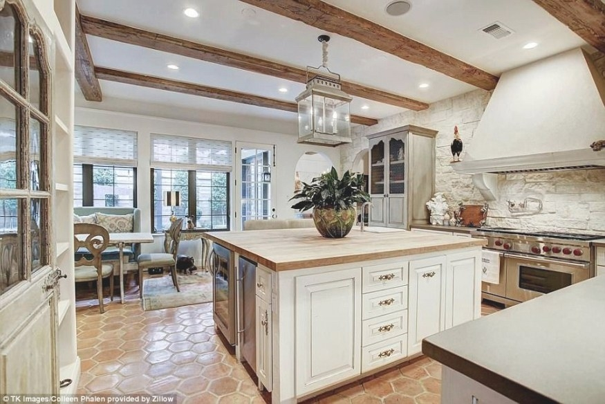 Texas Mansion Is On The Market With Boutique Shoe Closet for State Of The Art Kitchens