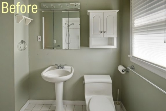 The Bath Showcase: Before-And-After: Zinka's Diy Bath Remodel pertaining to How To Remodel Bathrooms