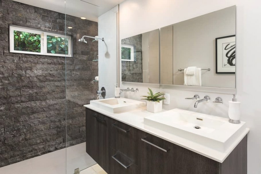 The Best Bathroom Colors (Based On Popularity) throughout Images Of Modern Bathrooms