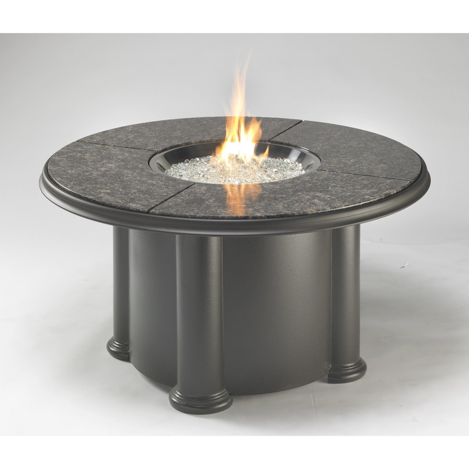 The Outdoor Greatroom Company Grand Colonial Table With pertaining to Propane Fire Pit Table