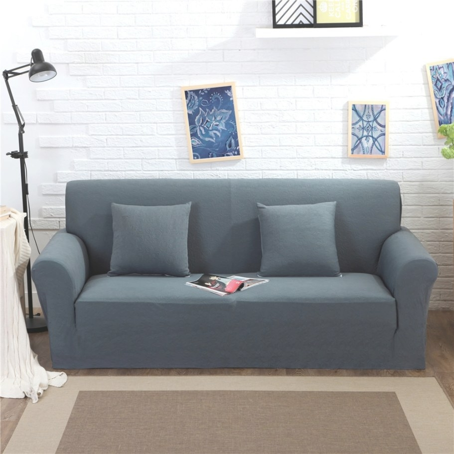 Thicken Knitted Stretch Fabric Slipcover For Chair regarding What Is A Settee