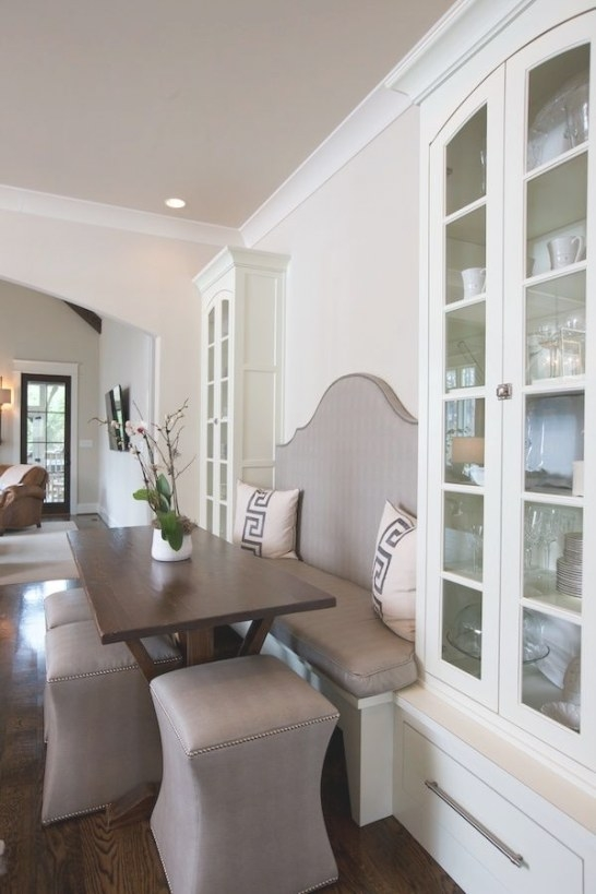 This Custom Home Design Is Sheer Perfection! | Kitchen with regard to Restaurant Booths For Home