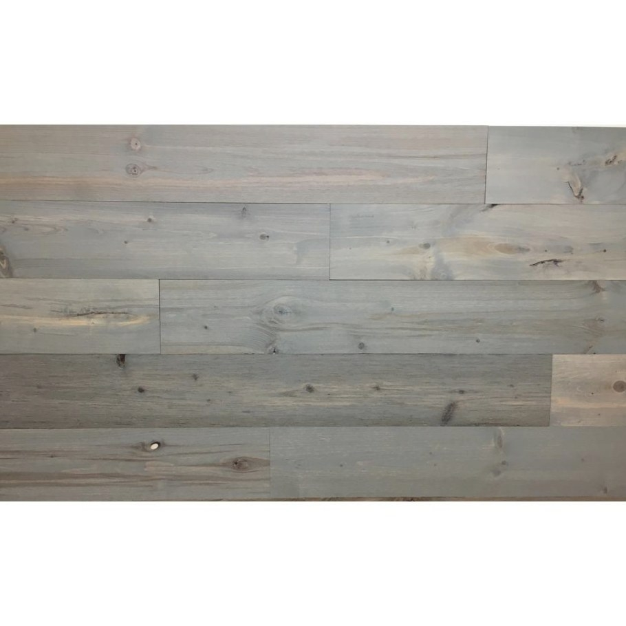 Timberchic Driftwood 4 In. Peel And Stick Wall Applique for Peel And Stick Wall Panels