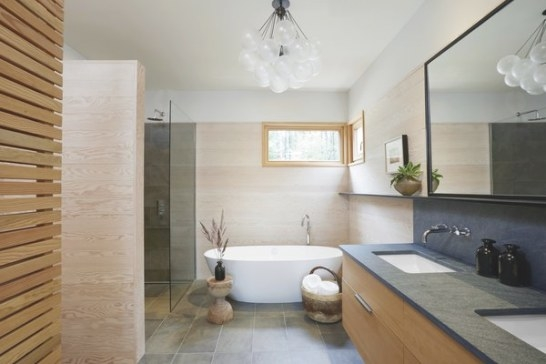 Top 5 Homes Of The Week With Blissful Bathrooms - Dwell with Images Of Modern Bathrooms