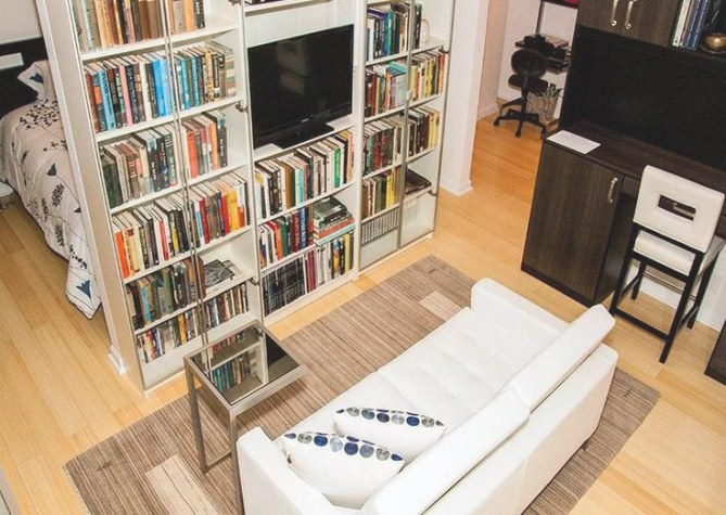Turning A Living Room Into A Bedroom | Bookshelves In regarding Turning Living Room Into Bedroom
