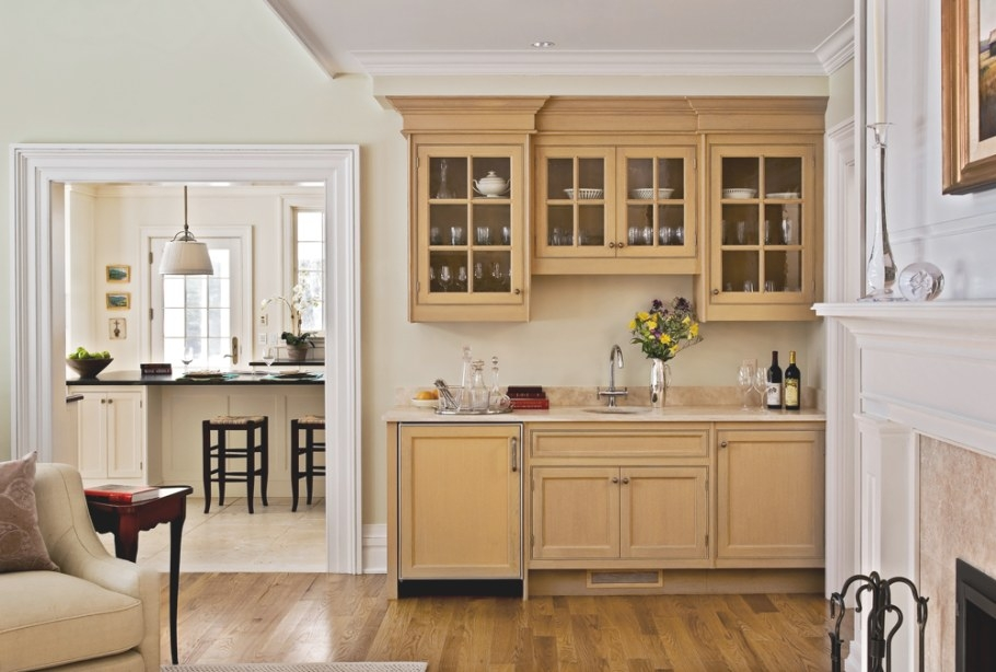 Two Wet Bars – On The Drawing Board within Wet Bars For Homes