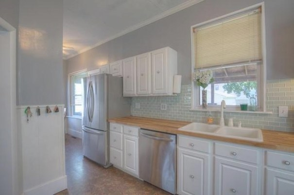 Update - What Color Gray Paint For Kitchen? | Gbcn regarding Sherwin Williams Gray Screen