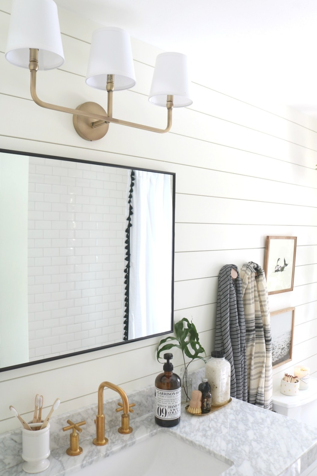 Upstairs Bathroom Remodel- The Reveal! - Nesting With Grace pertaining to How To Remodel Bathrooms