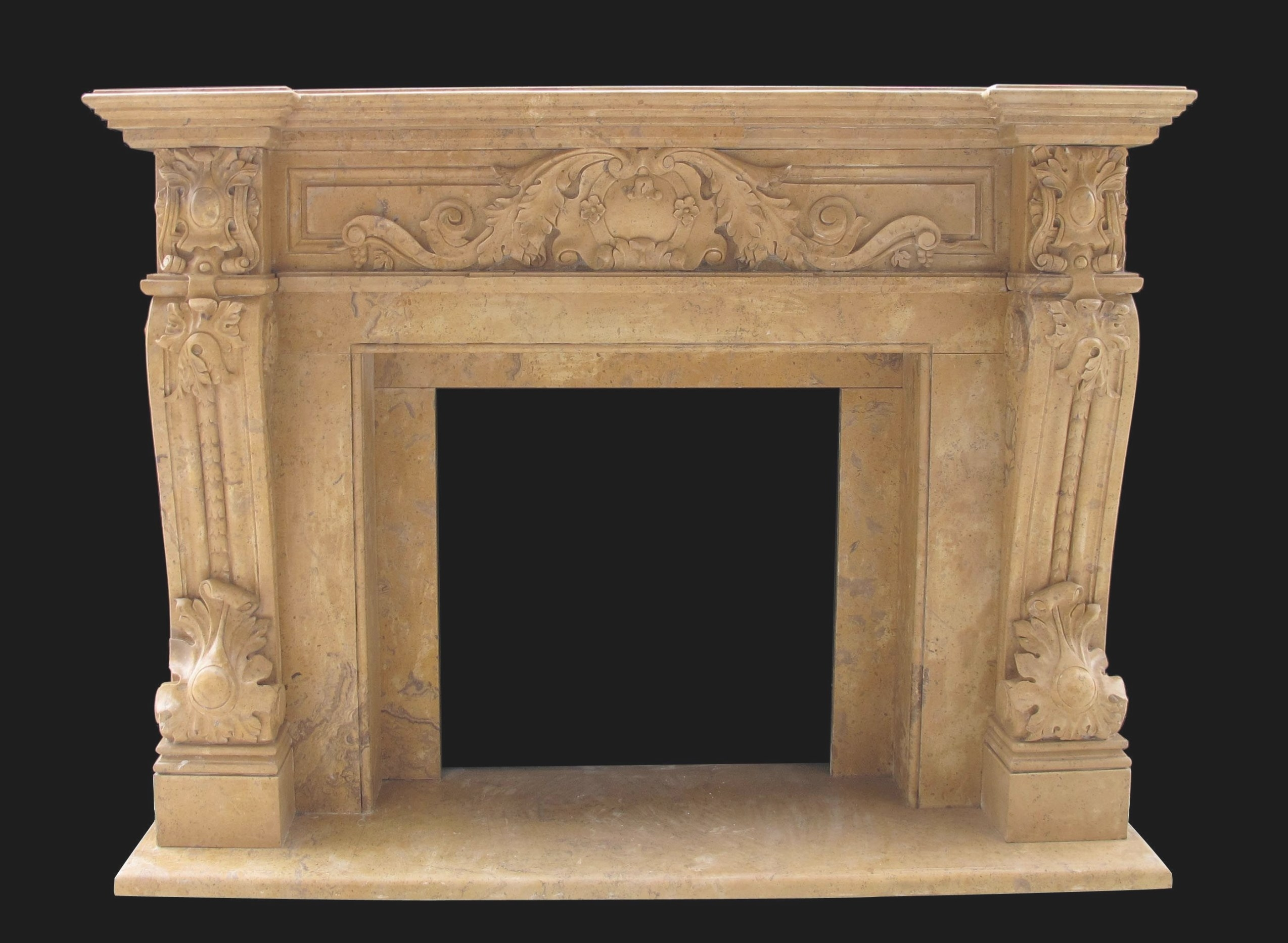 Verona Antique Fireplace Mantel Surrounds   French for Fireplace Mantels For Sale