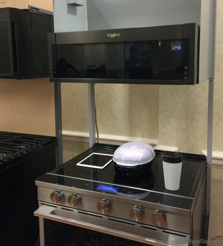 Village Home Stores - Village Home Stores inside Low Profile Over The Range Microwave