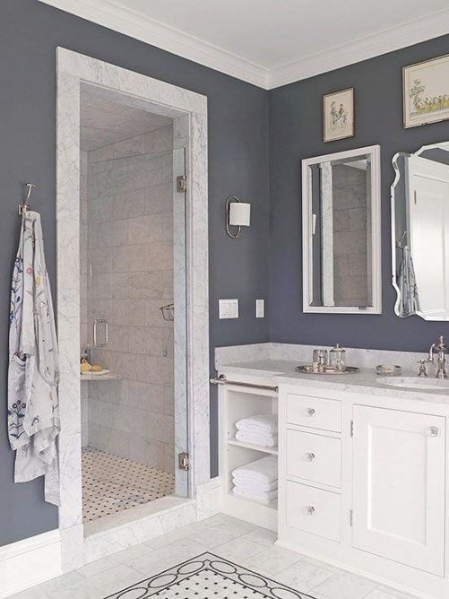 Walk In Shower Ideas For Small Bathrooms From Oliver intended for Walk-In Shower Ideas