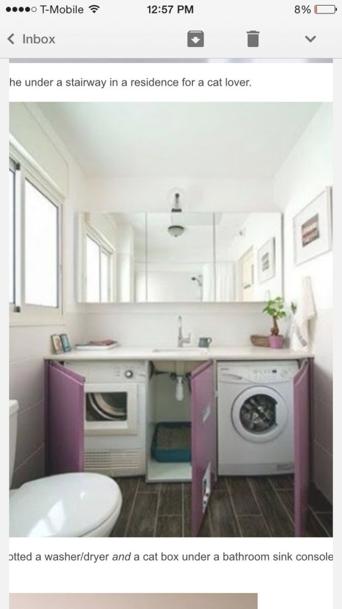 Washer And Dryer Under Sink In 2019   Laundry Room throughout Washer Dryer Combo In Bathroom