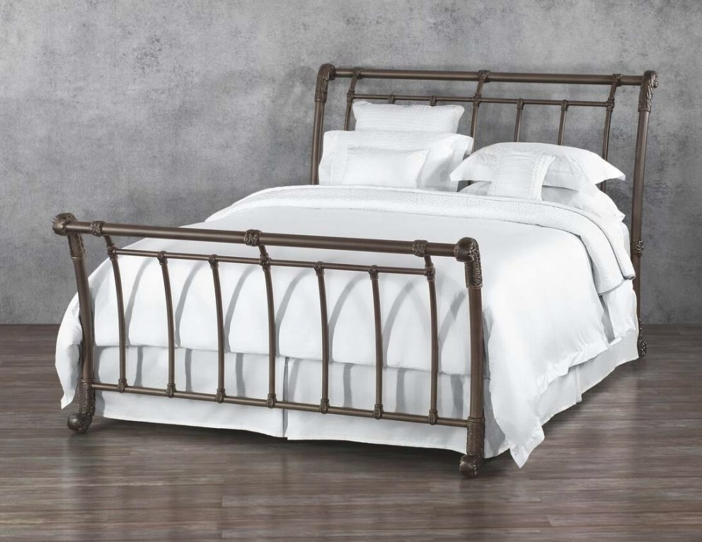 Wesley Allen Brookshire Iron Bed: Western Passion pertaining to Wesley Allen Iron Beds