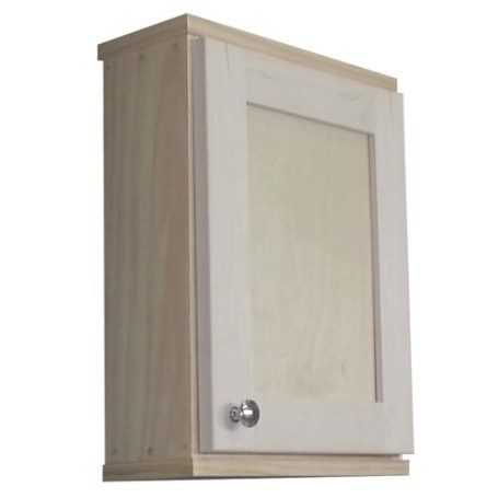 """Wg Wood Products Shaker Series 15"""" X 19.5"""" Surface Mount regarding Surface Mount Medicine Cabinet"""