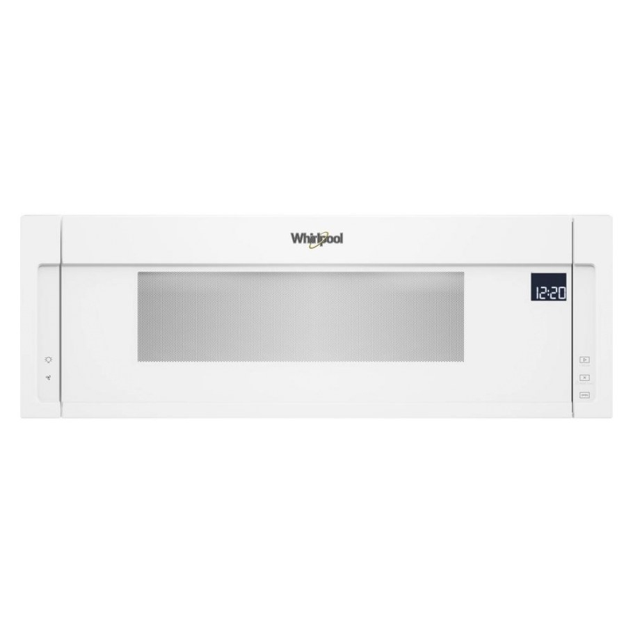 Whirlpool 1.1 Cu. Ft. Over The Range Low Profile Microwave within Low Profile Over The Range Microwave
