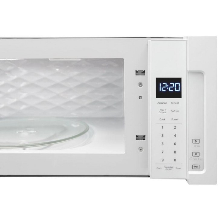 Whirlpool Wml55011Hw 1.1 Cu. Ft. Over The Range Low for Low Profile Over The Range Microwave