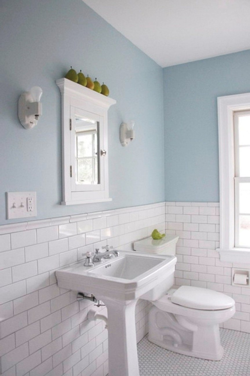 White Subyway Color Combination Traditional Bathroom Floor with regard to Small White Tiles For Bathrooms