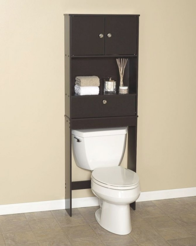 Zenna Home Over-The-Toilet Bathroom Space Saver With Drop throughout Over The Toilet Storage