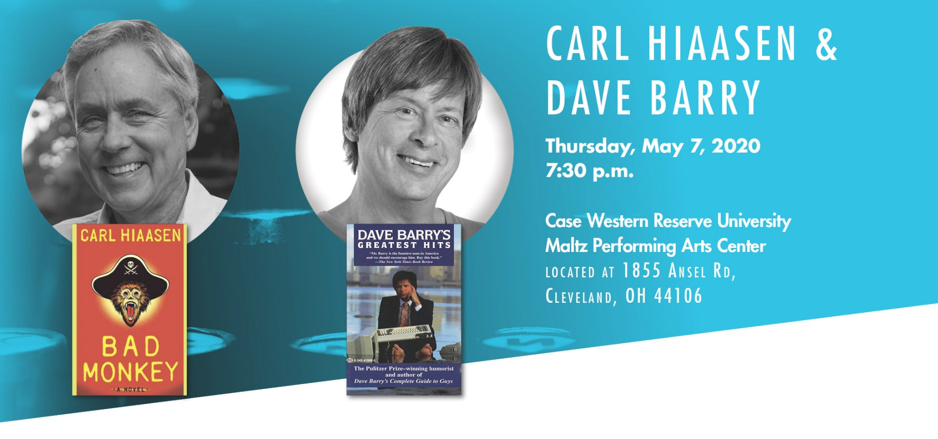 Carl Hiaasen & Dave Barry | The William N. Skirball Writers intended for Dave Barry Year In Review 2019