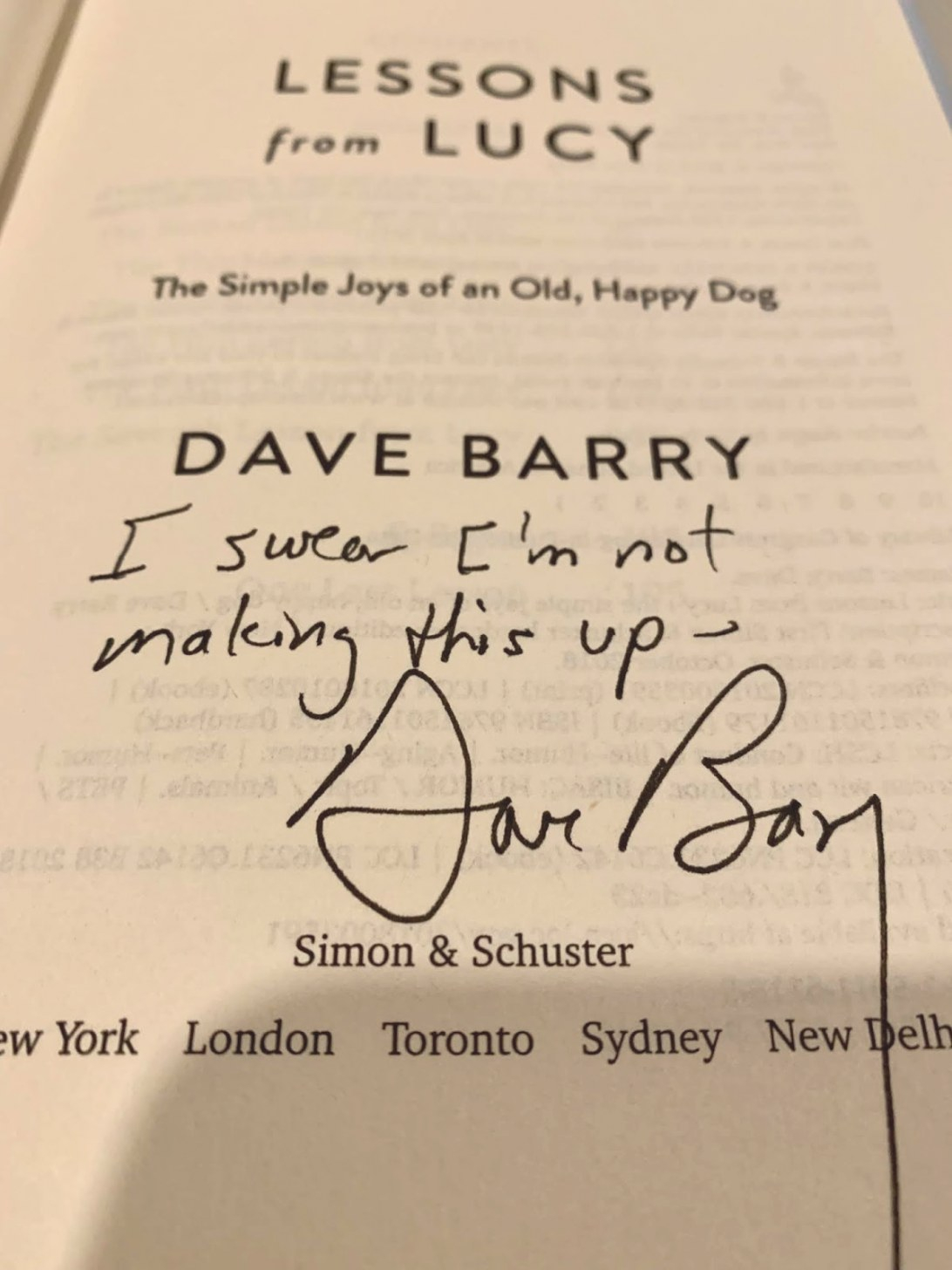 Quiet Highway: Saga Of A Gentleman: Book Review: Dave with regard to Dave Barry Year In Review 2019