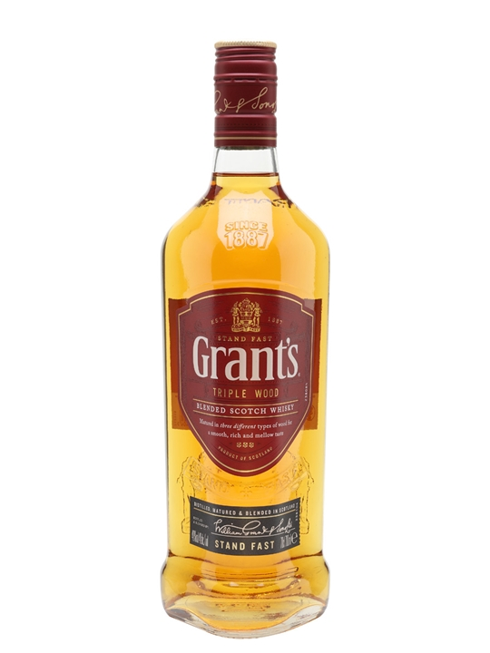 Grant's Family Reserve Triple Wood Blended Scotch Whisky