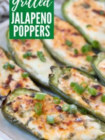 cooked jalapeno poppers on plate