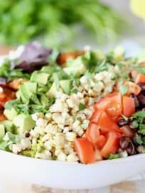 Grilled Romaine Chopped Salad Recipe