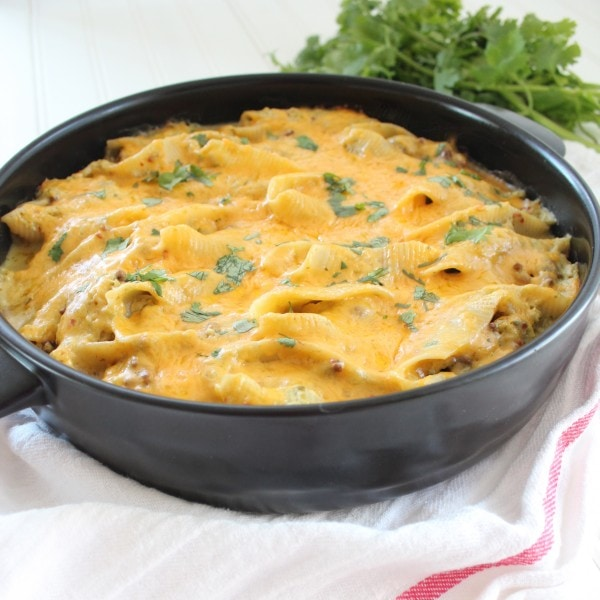 Baked Mexican Stuffed Shells