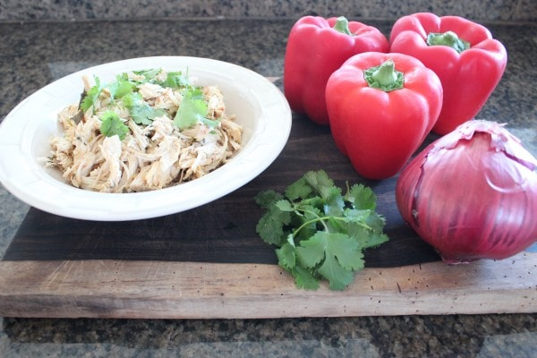 Cilantro Lime Chicken Stuffed Peppers Ingredients